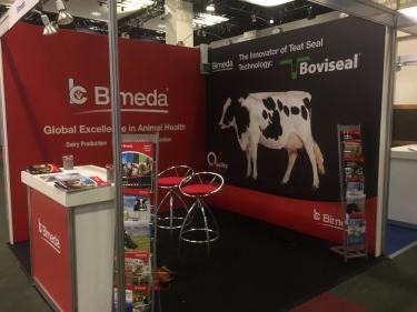 The Bimeda trade stand shortly before Congress opened